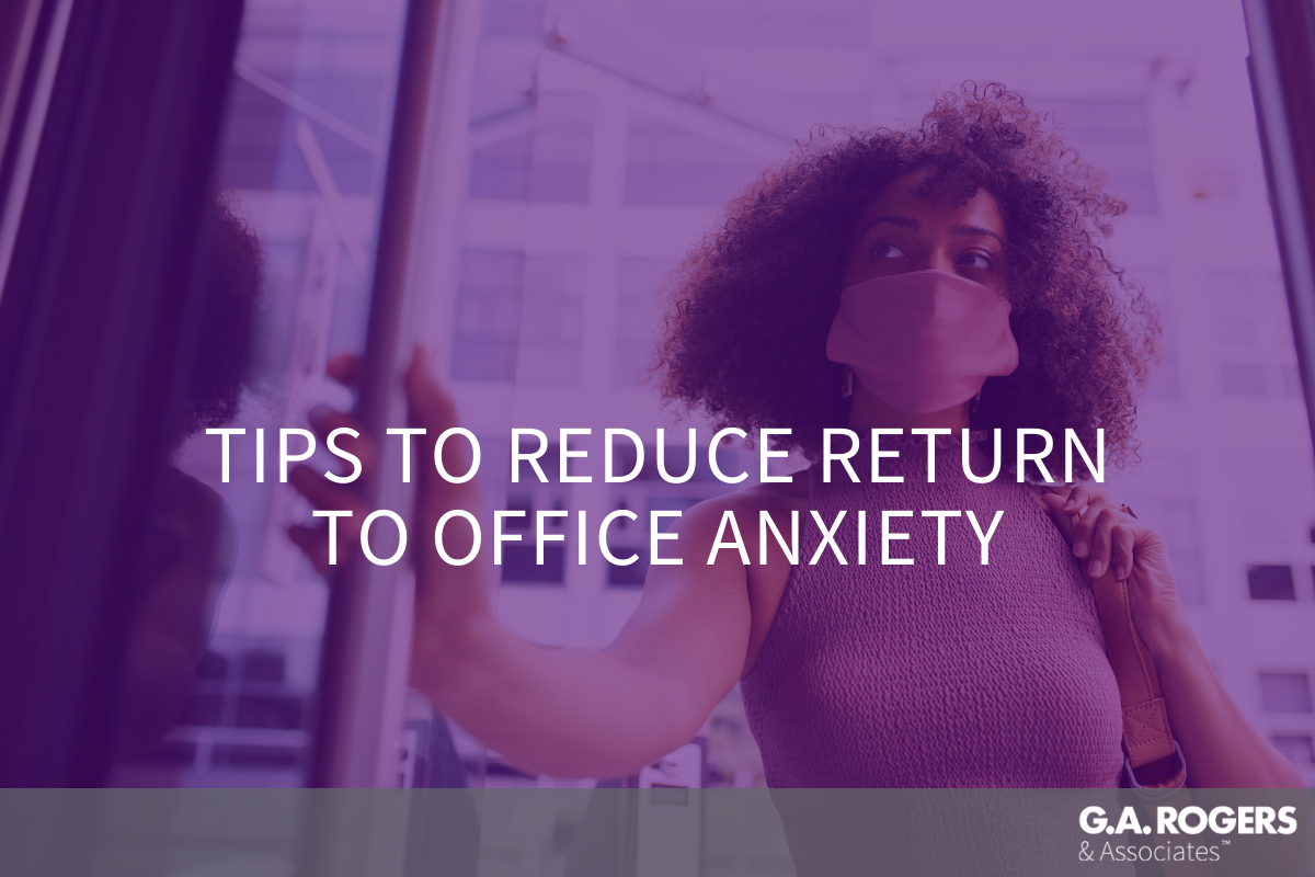 return to office anxiety