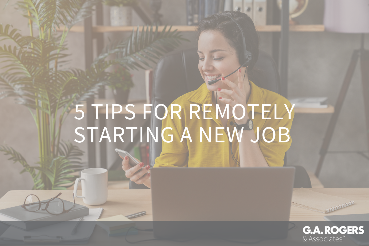 5 tips for remotely starting a new job