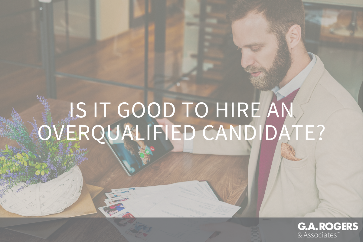 overqualified candidates