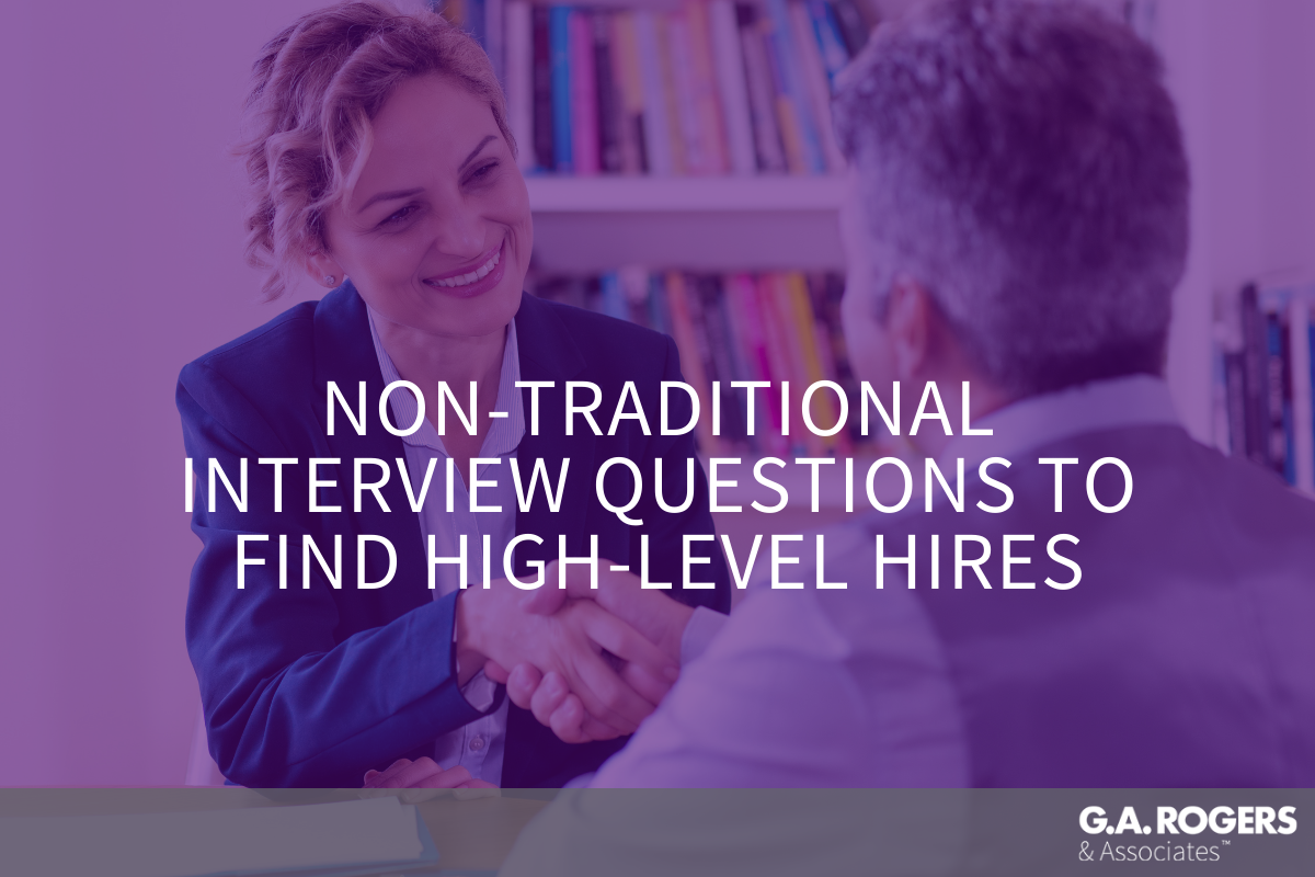 non traditional interview questions